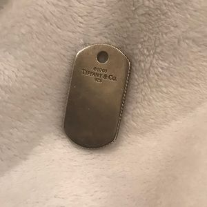 Authentic Tiffany & Co. Dog Tag